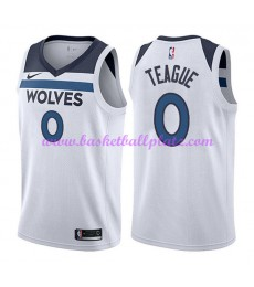 Minnesota Timberwolves Trikot Herren 2018-19 Jeff Teague 0# Association Edition Basketball Trikots N..